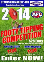 Tigers ClubHousse Footy tipping comp 2014